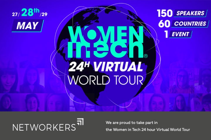 A 24 hours virtual conference for women in technology