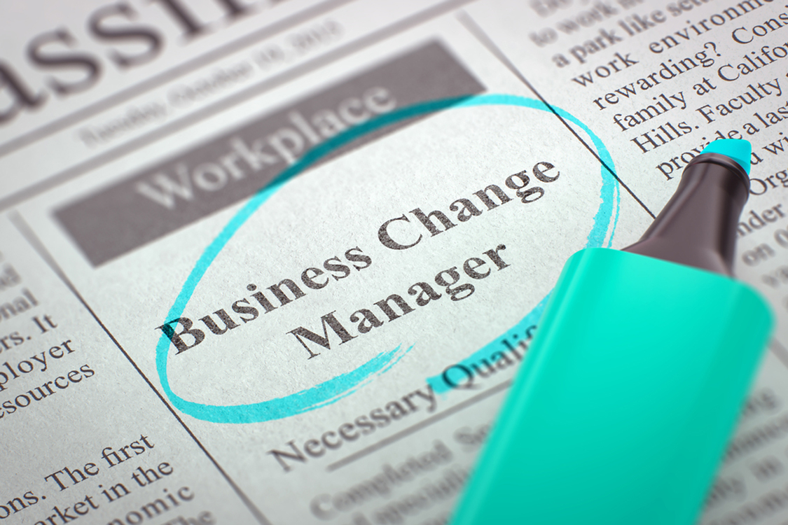 The rise of the permanent Business Change Manager