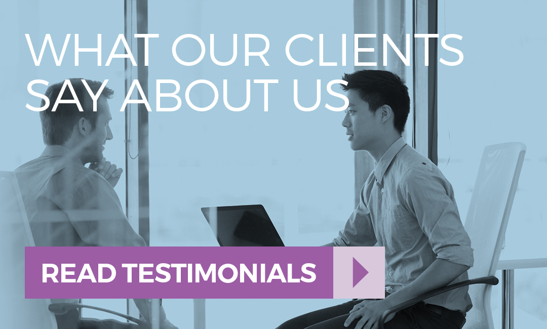 View testimonials from our clients who highly rate our technology recruitment agency