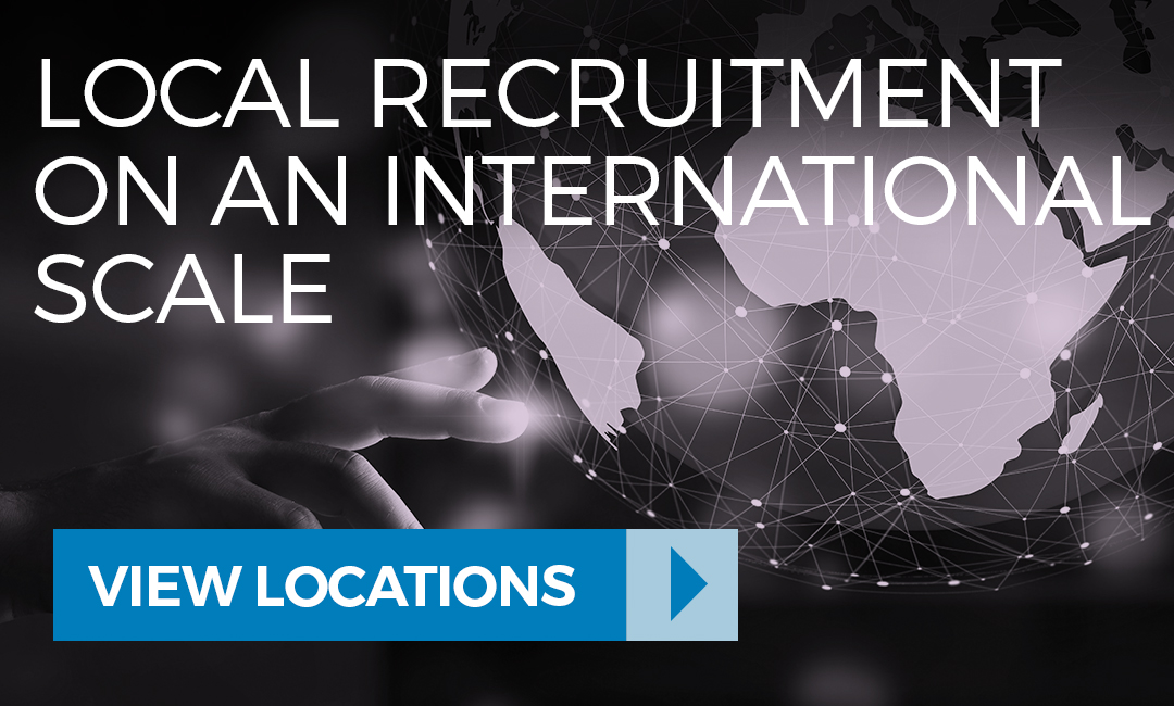 View the locations where our technology recruitment agency can support your business